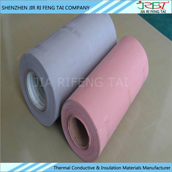 1.3W/m.k BM150 Thermal Conductivity Insulasion Silicone Rubber Cotated Fiberglass Fabric