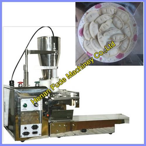 Stainless steel boiled dumplings making machine, chinese dumplings making machine ,chinese jiaozi ma