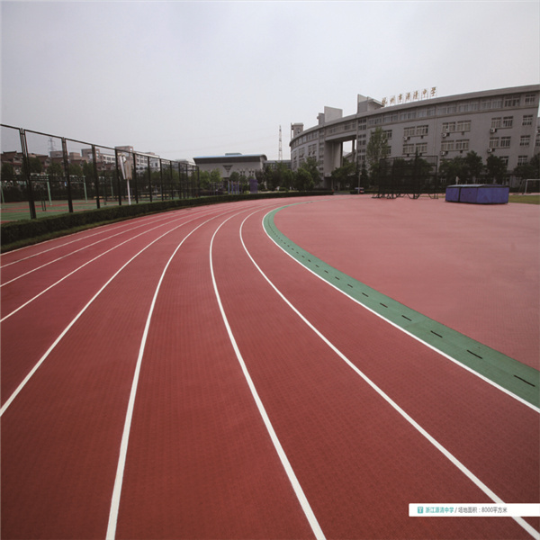 Rubber Sport Surface Manufacturer Prefabricated Running Track