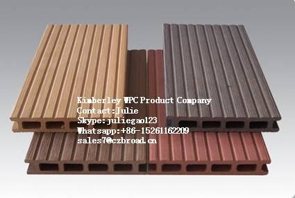 Top Selling Morden Decking Tiles, Waterproof WPC Outdoor Flooring