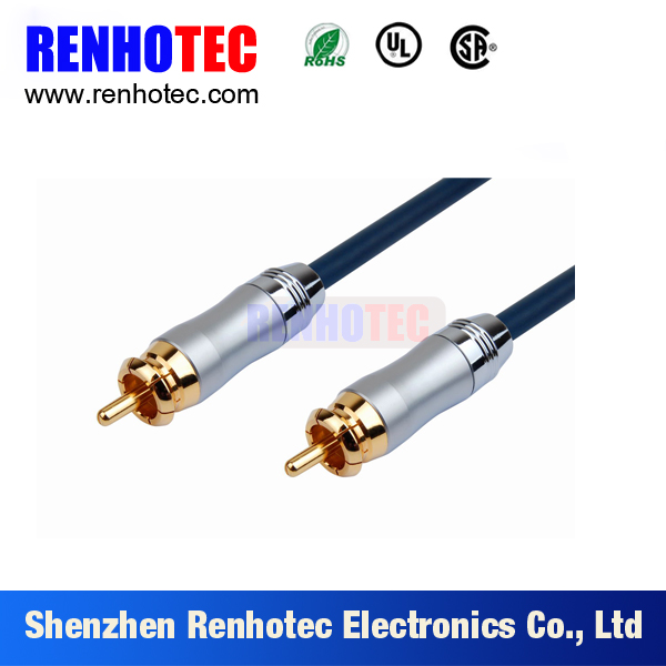China Factory Supply 3.5mm to 2 RCA Stereo Audio Cable
