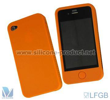 silicone phone case for iphone 4s