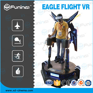 Eagle Flying VR Real experience of extreme sports