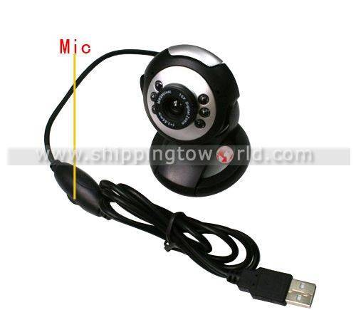 High-definition microphone camera with vision light high quality
