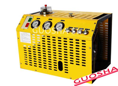 small size diving compressor(200 bar 20 mpa 4500psi 100L/min 440V 60HZ 220V 380v 50HZ gasoline)