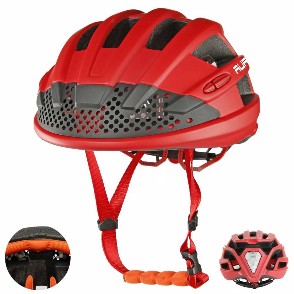 World Premiere Air Fans Led Light Bike Helmet