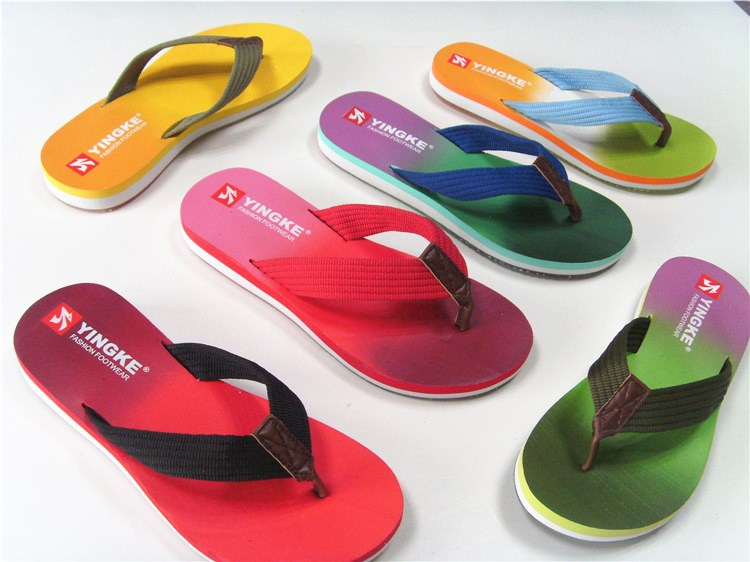 Factory wholesale cheap price summer beach eva flip flops slippers mens