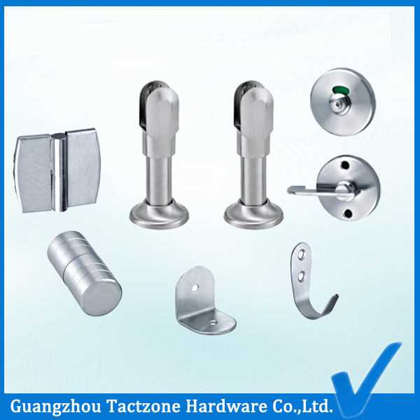 Zinc Alloy Hardware for Toilet Cubicle Partition