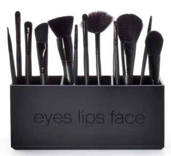 Eye Lip Face Hakuho-do Cosmetic Brush Display Rack Stand For Retail Shop