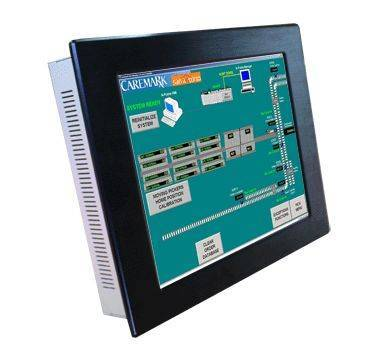 """12.1"""" industrial touch Panel PC IEC-612P"""