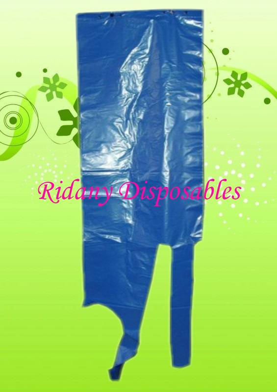 Polyethylene Disposable Hanging Apron,Plastic Medical Apron,PE Food Process Apron,Hair Dressing Apro