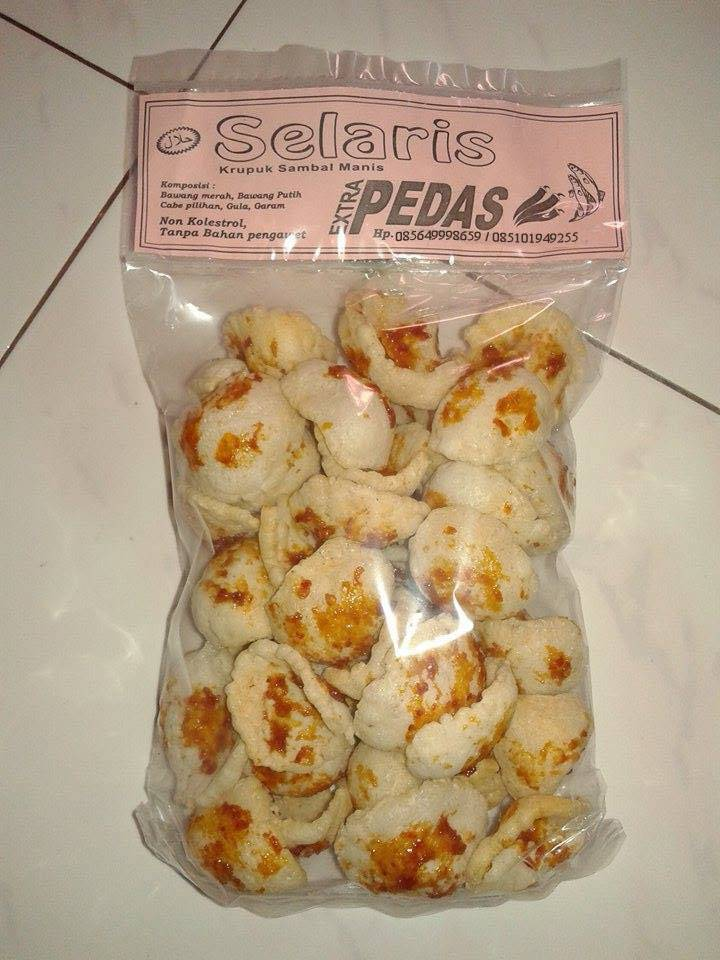 Fish Crackers Fried Sand