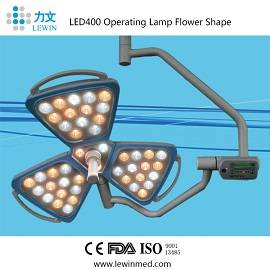 Surgical Lamps Type surgical ceiling light flower type LED400
