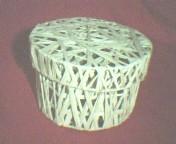 ED1993R ROUND RAFFIA BOX