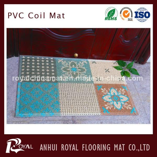 Non Slip Swimming Pool PVC Floor Coil Mat