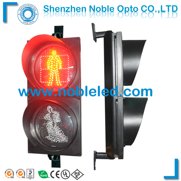 300 mm led dynamic pedestrian traffic light