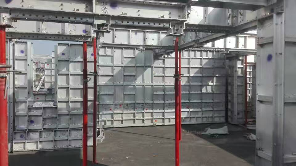 durable,low cost,easy to set up,tear down, and clean Construction Aluminum Formwork