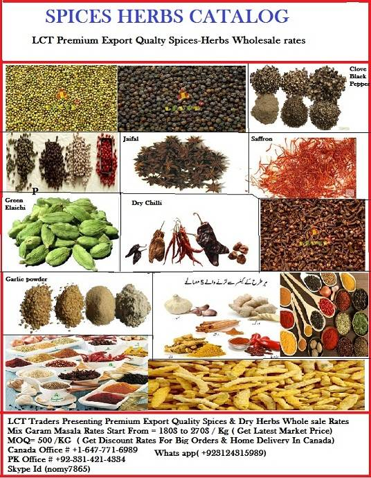 SPICES PULSES RICE EXPORT QUALITY WHOLESALE RATES