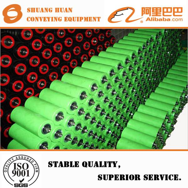 Steel conveyor roller idler for mine from China supplier