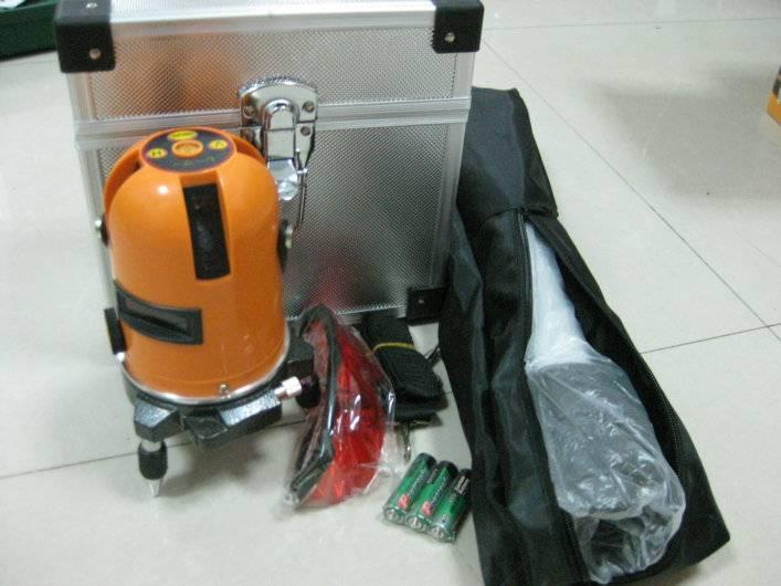3 lines 1H+2V+1D Laser Level kit