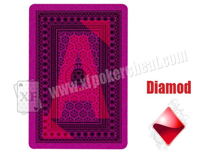Poker Games Invisible Royal Plastic Playing Cards / Cheating Poker Cards