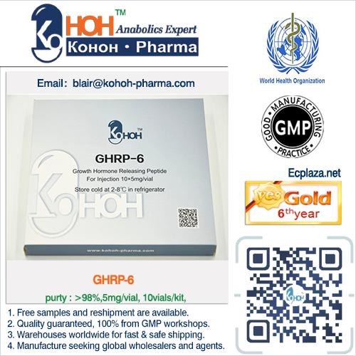 GHRP6 Peptides(Keifei Somatotropin Kigtropin Hygetropin Jintropin)