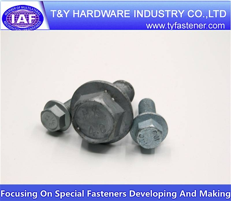 Made in China standard size hex bolt and nut
