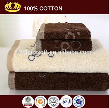 wholesale 100% cotton Sirospun towel embroidery luxury quality bath towel