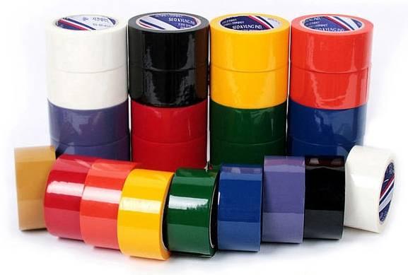 Color OPP tape