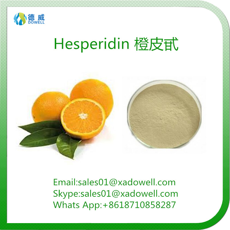 Natural Plant Extracts , Citrus Aurantium Extract For Preventing Cancer Hesperidin 90% CAS 520-26-3