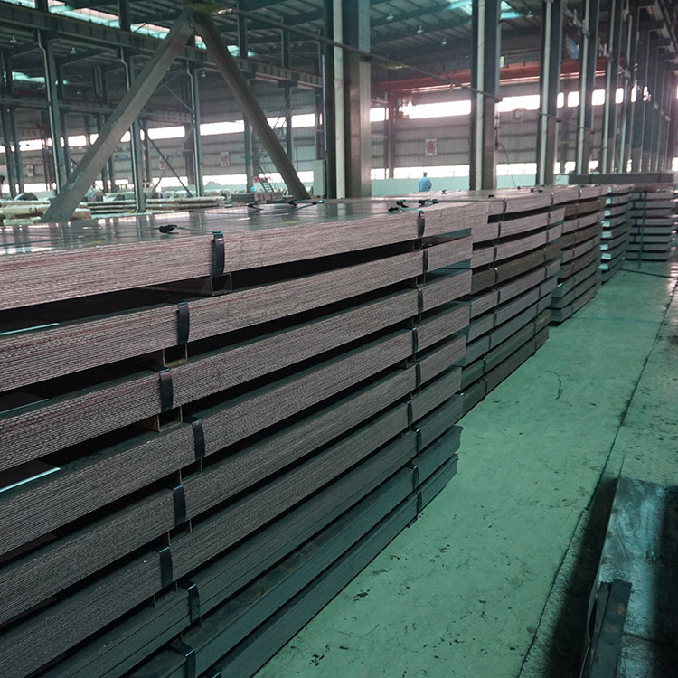 Weather resistant steel plate ASTM A588