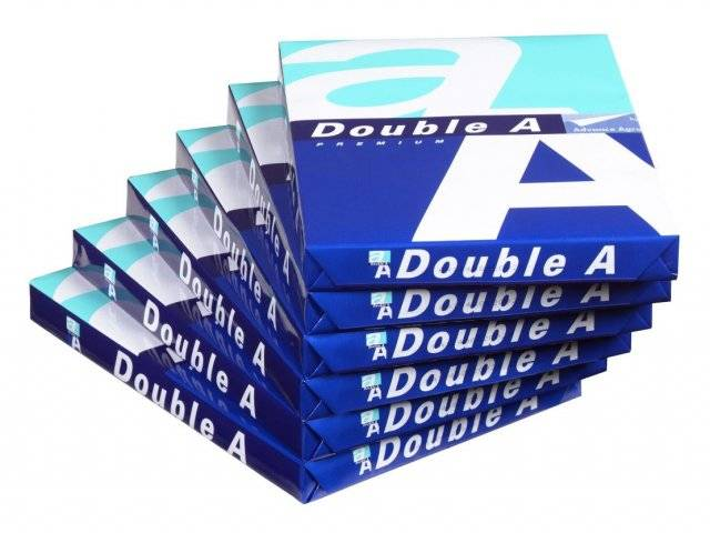 Quality Copier A4 Paper 80 gsm (210 mm X 297 mm) Double A Brand
