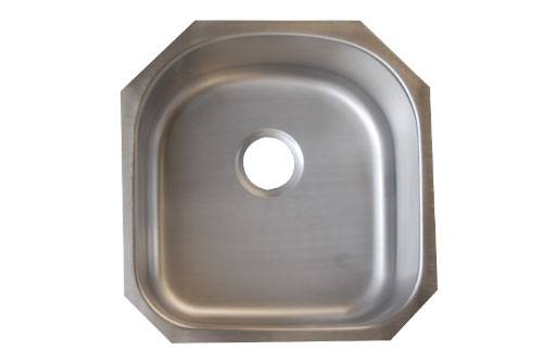 5052A Under-mount Single Stainless Steel Sink