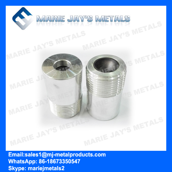 Boron Carbide Nozzle with Aluminum Jacket