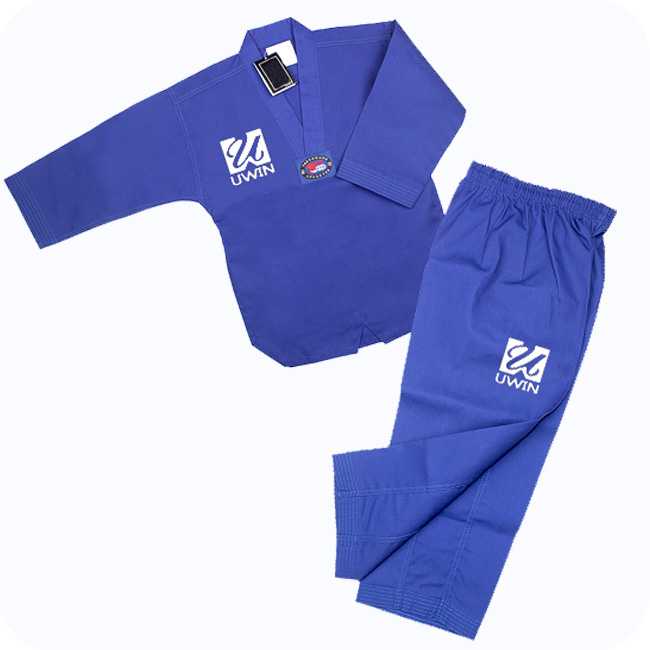 100% Cotton custom taekwondo uniform