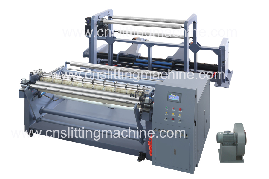 Single Rewinder Jumbo Paper Slitting Machine ZTM-G