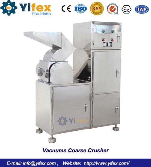 Vacuums Coarse Crusher
