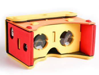 VR virtual reality three-dimensional glasses around cardboard2 storm tray generation format Google M