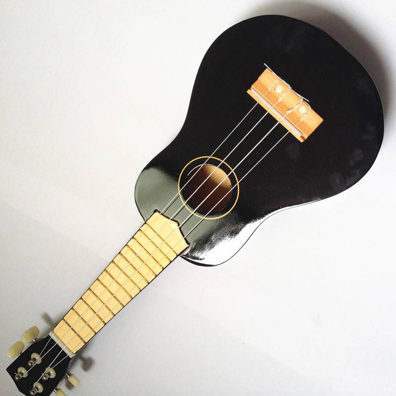 4 strings 21 inches wooden ukelele toy for sale