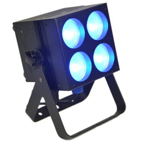 4X25W RGB COB LED Pixels Flat Par Light