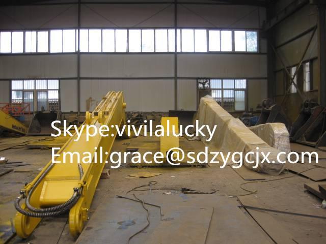 Jining Zhenyuan Sell Komatsu PC200-7 18M Excavator Long Reach Boom & Arm