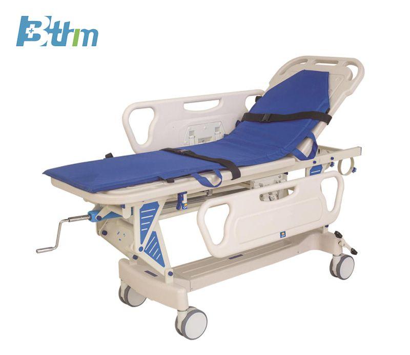 Patient Transfer Trolley - Luxury lift cart Patient Transfer Cart Medical record Trolley