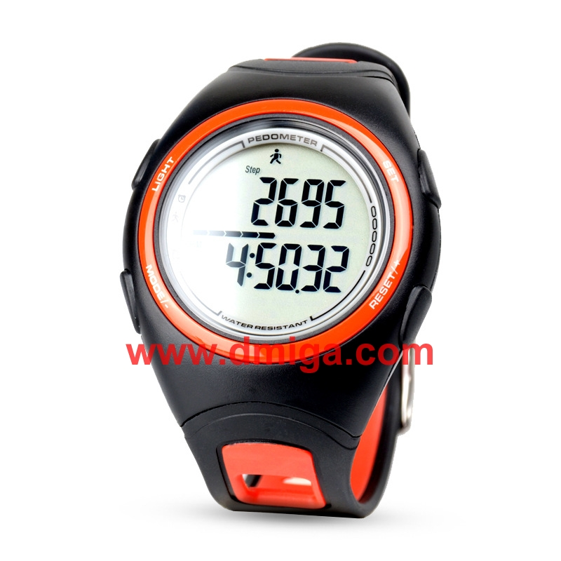 Smart sport watch waterproof pedometer watch digital watch