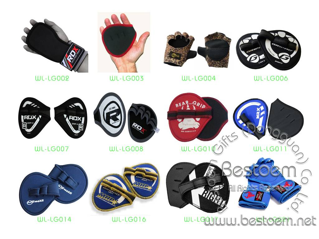Neoprene Weight Lifting Gloves palm grip pads