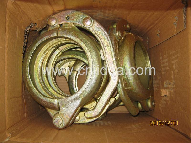 "Casting/Forged DN125(5.5"") Concrete Pump Pipe Clamp"