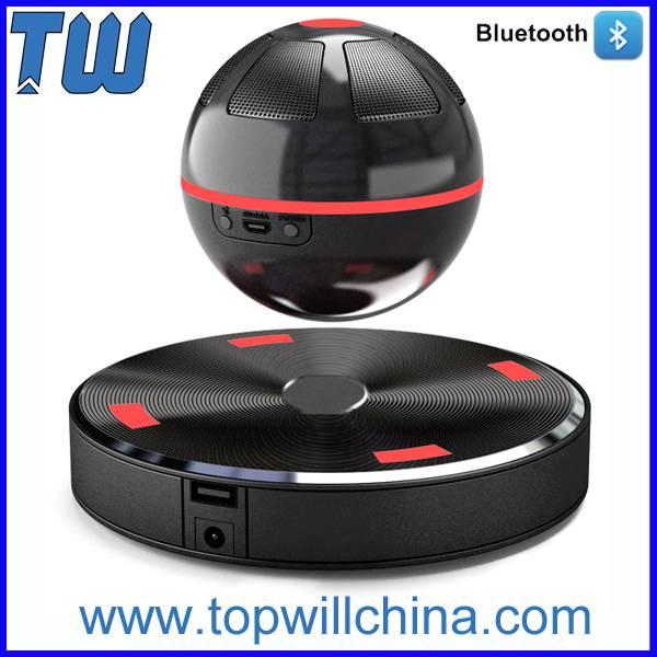 Fashion Magnetic Suspension Mini Bluetooth Speaker Noble Design Excellent Price