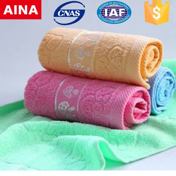 China Top 10 towels' supplier high quality 100% cotton Plain weave customized promotional towel