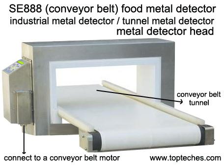 Industrial metal detector, tunnel metal detector, metal detector head, mining /food metal detector