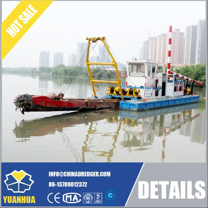 Cutter Suction Dredge for Waterway Maintenance