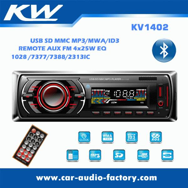 KV1402 Car stereo MP3 player